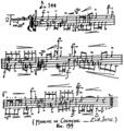 Satie - Marche de Cocagne manuscrit.png