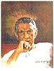 Portrait of Satyajit Ray