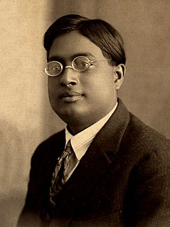 Satyendra Nath Bose Indian Bengali physicist