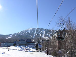 Sugarloaf (ski resort) - Sawduster Chair