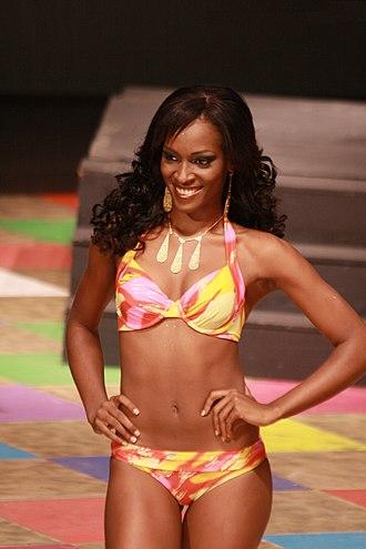 Afro-Nicaraguan - Image: Scarlett Allen Miss Nicaragua 2010