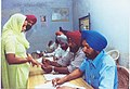 Scene of a polling booth in Chandigarh on May 10, 2004.jpg