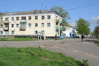 Shakhtyorsk Town in Sakhalin Oblast, Russia