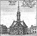 Schleuen - Reformierte Parochial-Kirche 1757.jpg