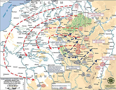 Schlieffen Plan - Wikipedia, the free encyclopedia