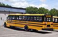 School bus - Thomas - Saf-T-Liner C2 - rear view - Kennebunk.jpg
