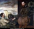 Scipio Clusone with a dwarf valet by Jacopo Tintoretto.jpg
