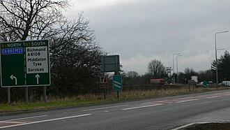 A66 road - Image: Scotch 99