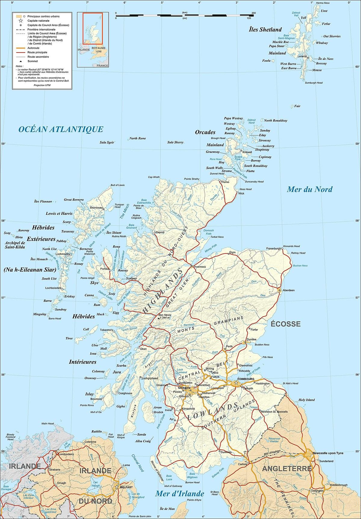 Geografia De Escocia Wikipedia La Enciclopedia Libre