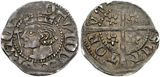 Scottish coinage - Image: Scotland penny 802002