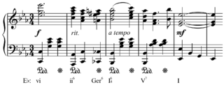 Augmented sixth chord