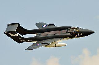 de Havilland Sea Vixen carrier-based fighter aircraft family