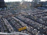 Sea of Bikes in Tachikawa.jpg