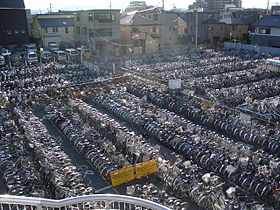 Sea of Bikes in Tachikawa.jpg
