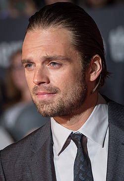 Sebastian Stan på premiären av The Martian på Toronto International Film Festival i september 2015.