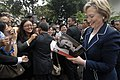 Secretary Clinton at Indonesian Presidential Palace (3294808347).jpg