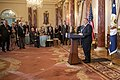 Secretary Pompeo Delivers Remarks on the 40th Anniversary of the U.S. Embassy Takeover in Tehran (49014808953).jpg