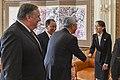 Secretary Pompeo Receives Photos from Kim Yo Jong in Pyongyang (44240182715).jpg