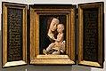 Seguace di hugo van der goes, madonna col bambino, 1485 ca. 01.jpg