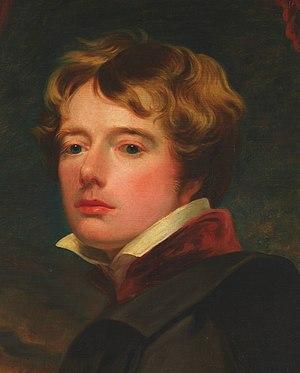 George Henry Harlow - Self-portrait of Harlow, Metropolitan Museum of Art