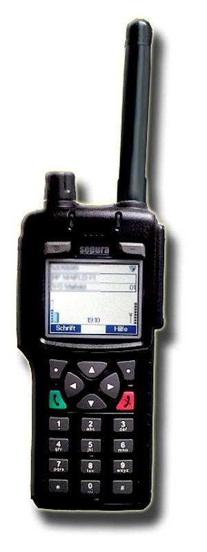 Land mobile station - Land mobile station, here: walkie-talkie