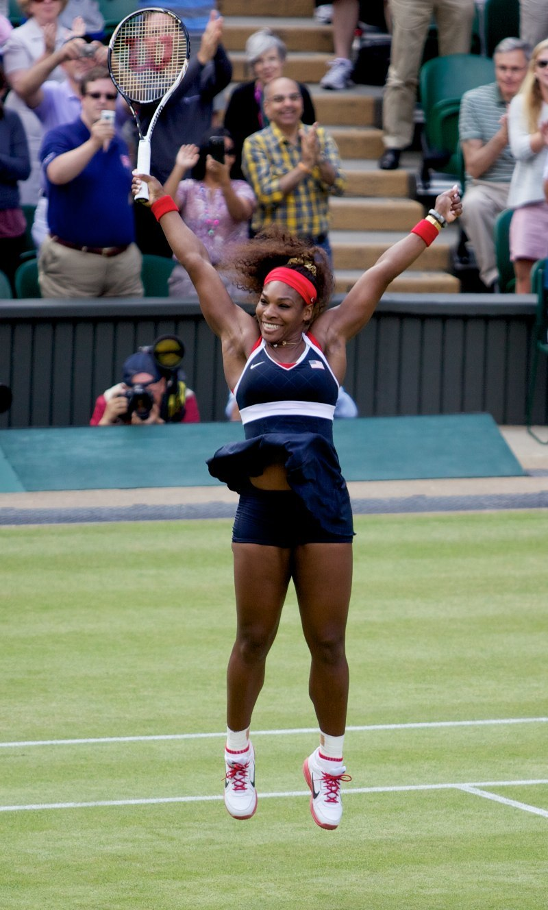 Serena Williams wins Gold cropped