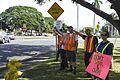 Service Members Rally at the Joint Base Pearl Harbor-Hickam Gates 161123-N-PA426-001.jpg
