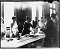 Serving food to striking workers, February 1919 (MOHAI 5430).jpg