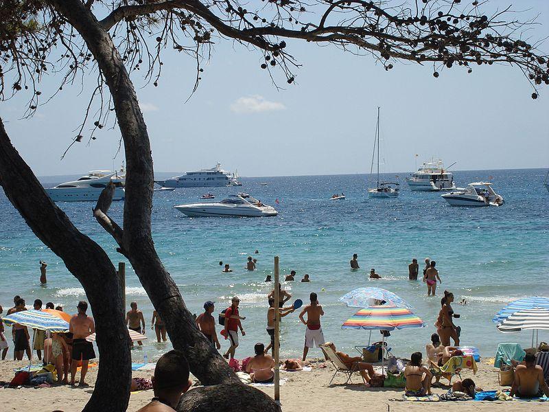 Principais praias de Ibiza