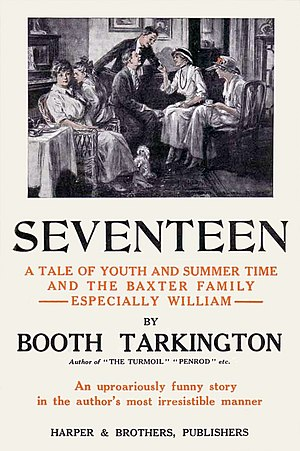 Seventeen (Tarkington novel) - First edition