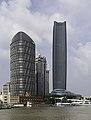 Shanghai - Int. Port Building, Ocean Plaza und Jinguang Xinwaitan.jpg