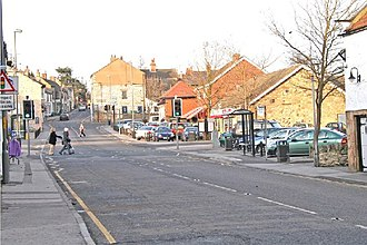 Sherburn in Elmet - Image: Sherburn in Elmet Village geograph.org.uk 104998