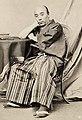 Shibata Sadataro Takenaka in Paris 1862.jpg