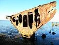Shipwreck of gayundah,woody point,22-08-2013 (22) (9564423973).jpg