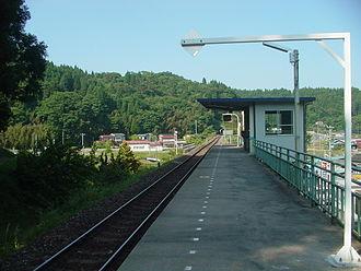 Shizuhama Station - Shizuhama Station in June 2007
