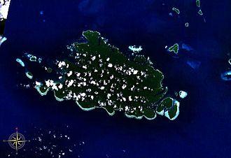 Shortland Island - Image: Shortland Island NASA