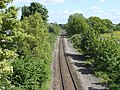 Shrewsbury to Chester Line at Rhosrobin, Wrexham (1).JPG