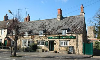 Shrivenham - The Prince of Wales public house.