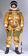 Shuttle Ejection Escape Suit John Young