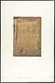 Siège du colosse monolithe d'Aménophis III, à Thèbes (Détails des sculptures) MET DP131892.jpg