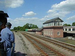 Swithland Sidings - Swithland Sidings Signal Box - 2000