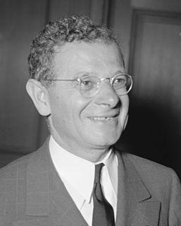 Sidney Hillman American labor leader