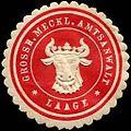 Siegelmarke Grossherzoglich Mecklenburgische Amtsanwalt - Laage W0237483.jpg