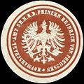 Siegelmarke Hofmarschall - Amt seiner Königlichen Hoheit des Prinzen Heinrich von Preussen W0212162.jpg