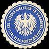 Siegelmarke Königliche Eisenbahn Direktion in Hannover - Ctrl. Verk. Abrech. Büreau W0219727.jpg
