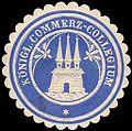 Siegelmarke Königliches Commerz - Collegium - Altona W0245891.jpg