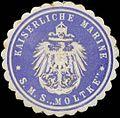 Siegelmarke K. Marine Kommando S.M.S. Moltke W0357704.jpg