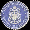 Siegelmarke Kaiserliche Marine Minen-Depot zu Geestemünde W0338250.jpg