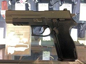 SIG Sauer P227 - SIG Sauer P227 Left Side