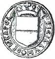 Sigillo con stemma di Napoli 1488.png